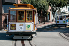 San Francisco Cable Car Photographie stock