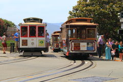 San francisco Cable Car Stock Photos