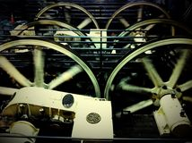 San Francisco Cable Car Machinery image libre de droits