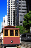 San Francisco Cable Car Royalty Free Stock Photos