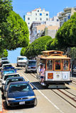 San Francisco Cable Car 23 Russian Hill Royalty Free Stock Photo