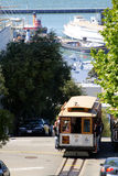 San Francisco cable car Royalty Free Stock Photo