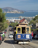 SAN FRANCISCO - The Cable car tram Royalty Free Stock Photo