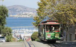 SAN FRANCISCO - The Cable car tram Royalty Free Stock Image