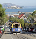 SAN FRANCISCO - The Cable car tram Stock Photo