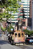 San Francisco cable car Stock Image