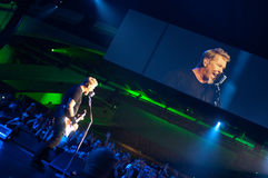 Metallica no centro 2011 de Moscone Imagem de Stock Royalty Free