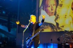 Metallica no centro 2011 de Moscone Imagem de Stock