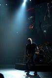 Metallica no centro 2011 de Moscone Imagens de Stock