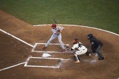 San Francisco, Califórnia, EUA, o 16 de outubro de 2014, AT&T estaciona, o estádio de basebol, SF Giants contra St Louis Cardinal Imagem de Stock