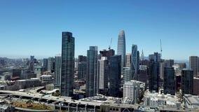 San Francisco, Califórnia, vídeo aéreo vídeos de arquivo