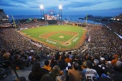 San Francisco, Californië, de V.S., 16 Oktober, 2014, AT&T-Park, honkbalstadion, SF-Reuzen tegenover St Louis Cardinals, National stock foto's