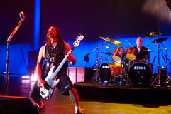 Metallica at Moscone Center 2011 Royalty Free Stock Photography