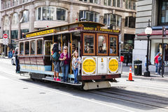 San Francisco, California, The Cable car tram Royalty Free Stock Photography