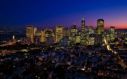 San Francisco, California, City Royalty Free Stock Photography
