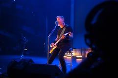 Metallica en el centro 2011 de Moscone Imagenes de archivo