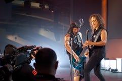Metallica en el centro 2011 de Moscone Imagen de archivo libre de regalías