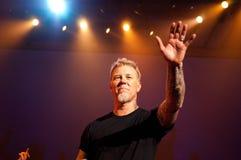 Metallica en el centro 2011 de Moscone Imágenes de archivo libres de regalías
