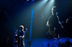 Metallica en el centro 2011 de Moscone Foto de archivo