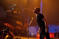 Metallica en el centro 2011 de Moscone Imagen de archivo