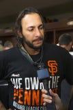 San Francisco, California, los E.E.U.U., el 16 de octubre de 2014, AT&T parquea, el estadio de béisbol, SF Giants contra St Louis Fotos de archivo libres de regalías