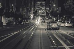 San Francisco, California at night Royalty Free Stock Image