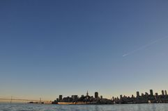 San Francisco, California skyline Royalty Free Stock Photography