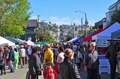 San Francisco, California, Stati Uniti d'America, S.U.A. Fotografia Stock Libera da Diritti