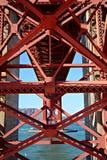 San Francisco, California, U Architettura della città fotografia stock