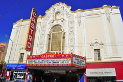 San Francisco, California, United States of America, Usa. The Castro Theatre on June 5, 2010. Built in 1922 with a Spanish Colonial Baroque facade, the Theatre Stock Image