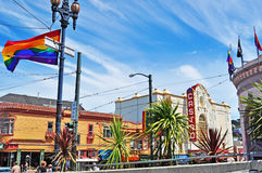 San Francisco, California, United States of America, Usa. The Castro Theatre on June 5, 2010. Built in 1922 with a Spanish Colonial Baroque facade, the Theatre stock photo