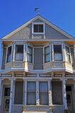 San Francisco, California, United States of America, Usa. A house in Castro on June 15, 2010. Castro, one of the first gay neighborhoods in Usa, is the most stock image