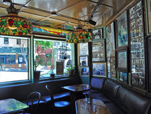San Francisco, California, United States of America, Usa. The interior of Vesuvio Cafe on June 12, 2010. The 1948 Vesuvio Cafe is a historic bar in North Beach Royalty Free Stock Photo