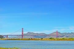 San Francisco, Golden Gate, bridge, skyline, California, United States of America, Usa, nature, landscape, park, bay stock image