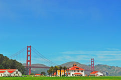San Francisco, Golden Gate, bridge, skyline, California, United States of America, Usa, nature, landscape, park stock photo