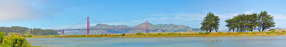 San Francisco, Golden Gate, bridge, skyline, California, United States of America, Usa, nature, landscape, park royalty free stock image