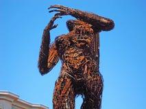 San Francisco, public sculpture, woman, California, United States of America, Usa. The sculpture Ecstasy on June 10, 2010. Ecstasy by Dan Das Mann and Karen Stock Photography