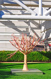 San Francisco, public monument, tree, Yerba Buena Gardens, sculpture, California, United States of America, Usa. A tree sculpture in Yerba Buena Gardens on June Stock Images