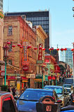 San Francisco, California, United States of America, Usa. View of Chinatown on June 15, 2010. The Chinatown neighborhood, established since 1848, is the oldest Stock Photos