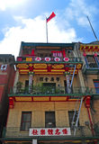 San Francisco, California, United States of America, Usa. View of Chinatown on June 15, 2010. The Chinatown neighborhood, established since 1848, is the oldest royalty free stock images