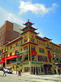 San Francisco, California, United States of America, Usa. View of Chinatown on June 15, 2010. The Chinatown neighborhood, established since 1848, is the oldest royalty free stock image
