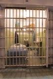 San Francisco, California, United States - April 30, 2017: Prisoner`s cell of Alcatraz prison in Alcatraz Island. Stock Image