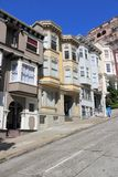 San Francisco. California, United States - beautiful old architecture in Nob Hill area Stock Image