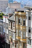 San Francisco. California, United States - beautiful old architecture in Nob Hill area Royalty Free Stock Photography