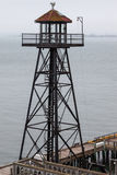 SAN FRANCISCO, CALIFORNIA/USA - 7 août : Prison d'Alcatraz près photo libre de droits