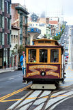 SAN FRANCISCO, CALIFORNIA/USA - AUGUST 6 : Cablecar in San Franc Stock Photo