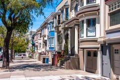 San Francisco, California, USA - June 18, 2014: Classic Victorian house in San Francisco stock photography