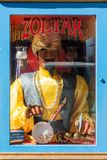 Machine to guess the future Zoltar on a street in San Francisco, California, USA stock photo