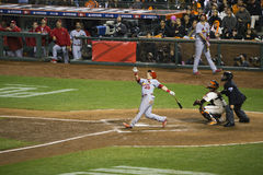 San Francisco, California, USA, October 16, 2014, AT&T Park, baseball stadium, SF Giants versus St. Louis Cardinals, National Leag Stock Photos