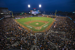 San Francisco, California, USA, October 16, 2014, AT&T Park, baseball stadium, SF Giants versus St. Louis Cardinals, National Leag Stock Image